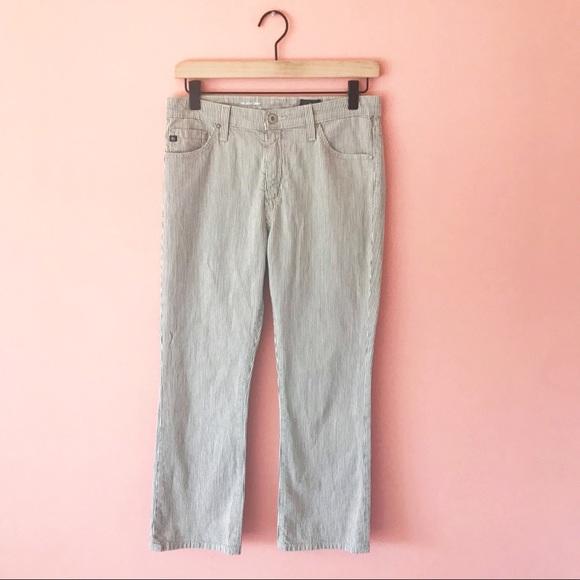 Anthropologie Denim - AG Jeans High Waist Jodi Stripe Crop Size 28